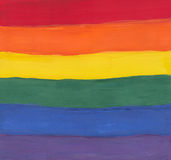Pintura del espectro del Water-color foto de archivo