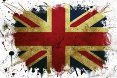 Pintura del indicador de Gran Bretaña Fotos de archivo