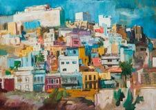 Pintura del Las Palmas Imagen de archivo libre de regalías