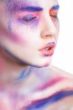 Pintura del maquillaje Fotos de archivo