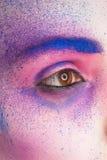 Pintura del maquillaje Imagenes de archivo