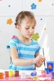 Pintura del niño Imágenes de archivo libres de regalías