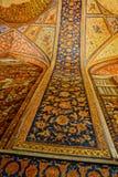 Pintura del palacio de Chehel Sotoun fotos de archivo libres de regalías