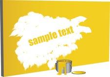 Pintura del texto de la muestra Fotos de archivo libres de regalías