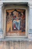Pintura devotional exterior da casa Imagens de Stock