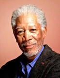 Pintura digital del retrato del freeman de Morgan fotos de archivo