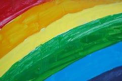 Pintura do arco-íris Fotos de Stock