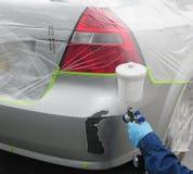 Pintura do carro. Fotos de Stock Royalty Free