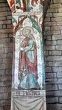Pintura do fresco imagem de stock