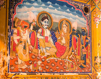 Pintura do fresco Fotografia de Stock Royalty Free