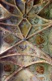 Pintura do fresco no teto da igreja paroquial em Lepoglava, Croácia imagens de stock royalty free
