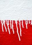 Pintura do gotejamento Fotografia de Stock