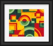 Pintura do guache Imagem de Stock Royalty Free