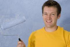 Pintura do homem Fotografia de Stock