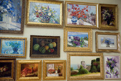 Pintura do Mezhyhya Ucrânia Imagens de Stock Royalty Free