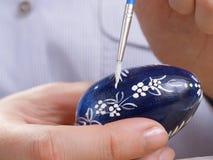 Pintura do ovo de Easter foto de stock royalty free