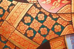 Pintura do teste padrão tailandesa Foto de Stock Royalty Free