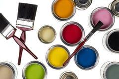Pintura e decoração Imagem de Stock Royalty Free