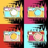 Pintura en el estilo de Andy Warhol ilustración del vector