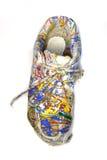 Pintura en el zapato Foto de archivo