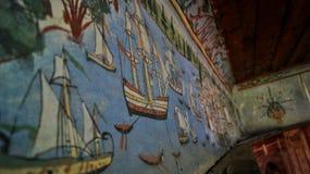 Pintura en la pared Fotos de archivo