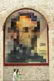 Pintura famosa de Salvador Dali fotografía de archivo