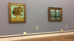 Pintura famosa del girasol de Van Gogh en Neu Pinakothek en Munich en Alemania