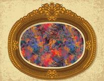 Pintura floral Fotografia de Stock Royalty Free