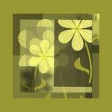 Pintura floral Fotos de Stock