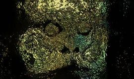 Pintura funerária da máscara Imagem de Stock