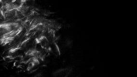 Pintura gris oscuro colorida que se mezcla en agua TINTA que remolina bajo el agua stock de ilustración