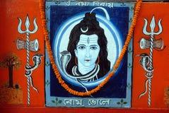 Pintura india de la pared fotos de archivo libres de regalías