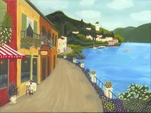 Pintura italiana foto de archivo