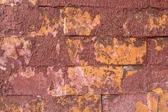 Pintura lascada em um fundo velho da textura da parede do emplastro fotos de stock royalty free