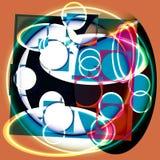 Pintura ligera abstracta Fotografía de archivo libre de regalías