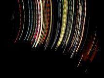 Pintura ligera de la noche imagen de archivo libre de regalías
