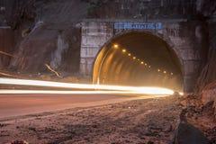 Pintura ligera del túnel Imagen de archivo libre de regalías