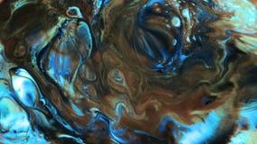 A pintura mágica místico da tinta do sumário explode a propagação filme