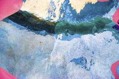 Pintura/mesa del extracto/fondo abstractos del extracto Fotos de archivo libres de regalías