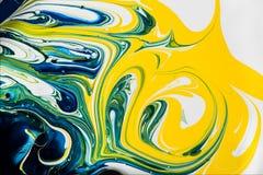 Pintura mezclada Imagen de archivo libre de regalías