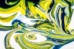 Pintura misturada Imagens de Stock Royalty Free