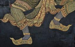 Pintura mural Imágenes de archivo libres de regalías