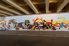 Pintura mural Imagem de Stock Royalty Free