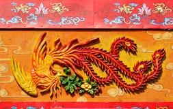 Pintura mural de Phoenix Imagem de Stock Royalty Free