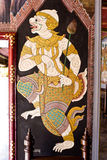 Pintura mural de Ramayana Fotos de Stock Royalty Free
