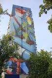 Pintura mural do conto de fadas de Ucrânia Kiev Kyiv fotos de stock royalty free
