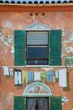 Pintura mural do edifício Fotografia de Stock
