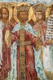 Pintura mural dos apóstolos Fotografia de Stock Royalty Free