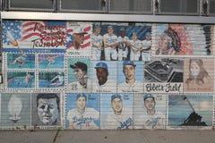 Pintura mural em Brooklyn Foto de Stock