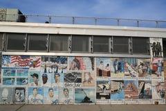 Pintura mural em Brooklyn Imagem de Stock